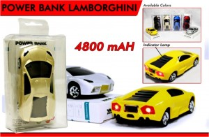 Power Bank Lamborghini